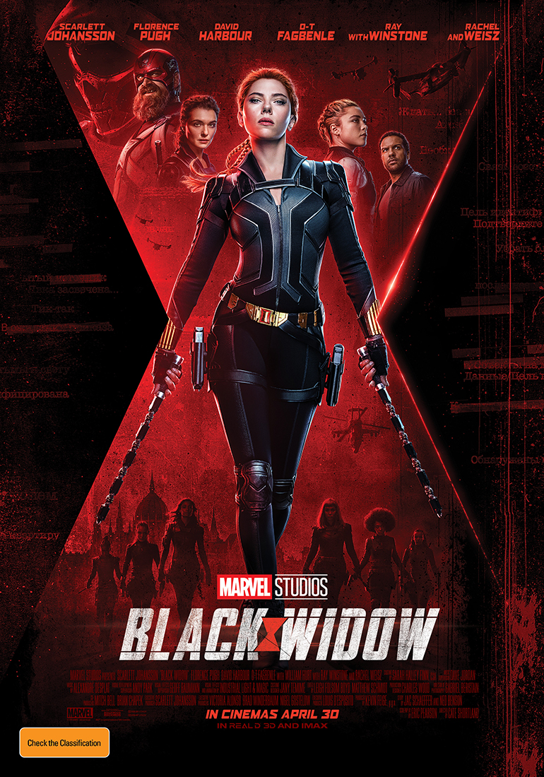 Black Widow - special advance screenings!