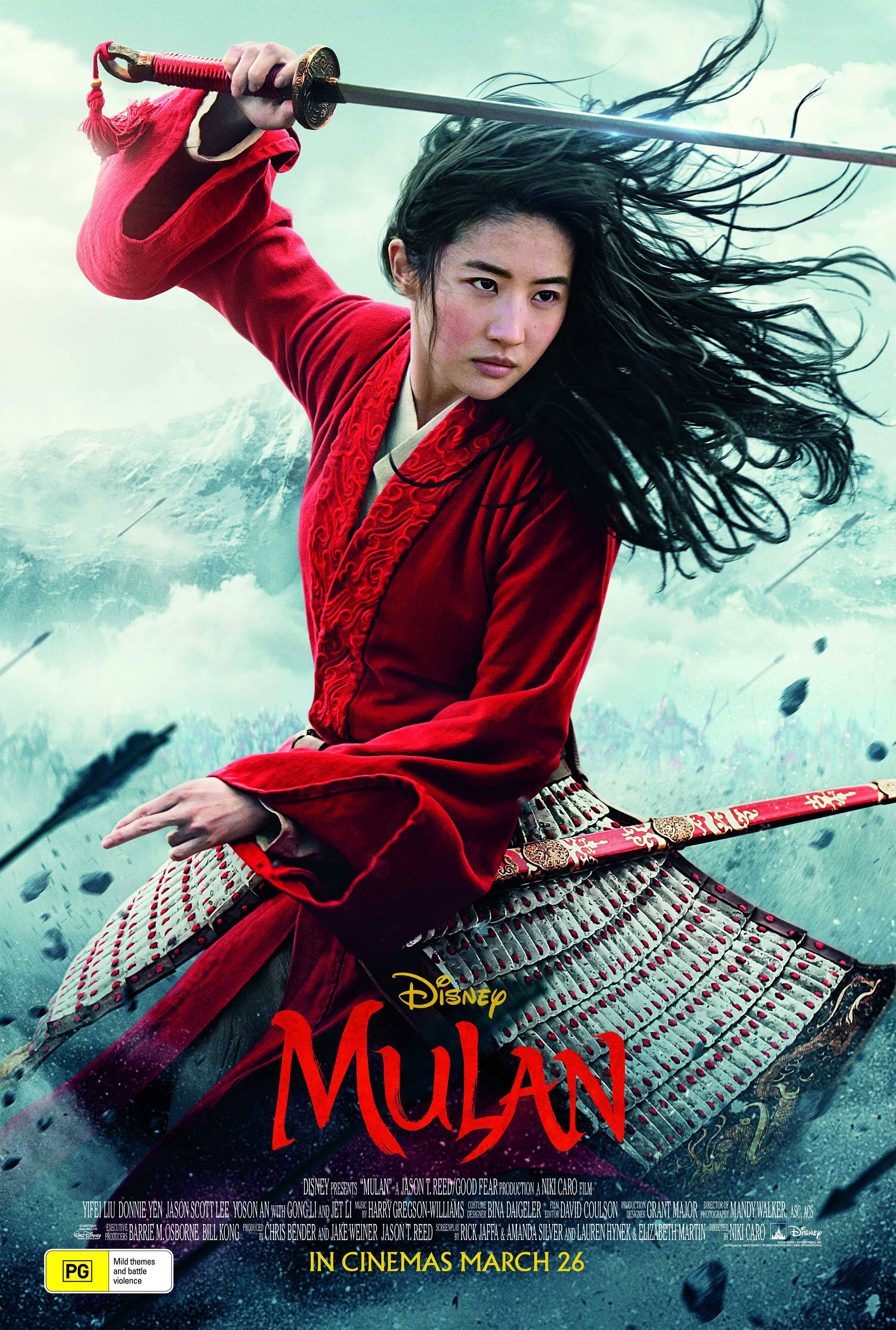 Mulan - special advance screenings!